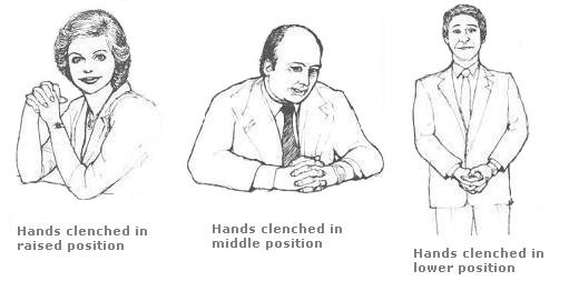 hand cleanch together